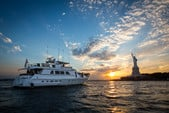 97 ft. Guy Couach Mega Yacht Boat Rental New York Image 9