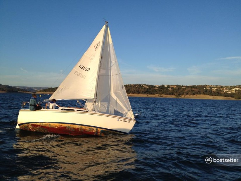 Rent a Catalina daysailer &_weekender in El Dorado Hills, CA near me