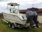 26 ft. Seaswirl Boats 2601 Walk Around Walkaround Boat Rental Washington DC Image 3