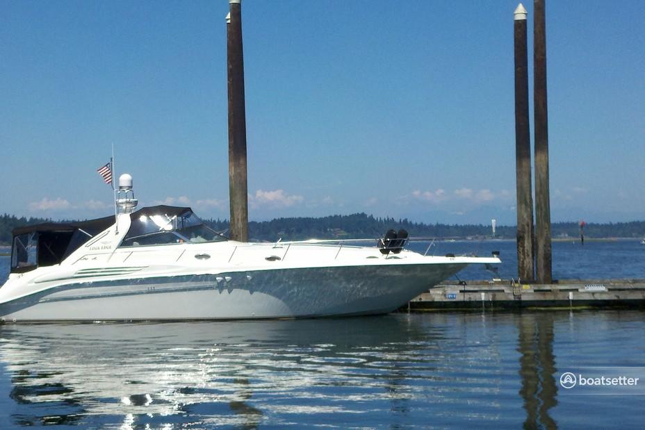 Rent a Sea Ray Boats express cruiser in Tacoma, WA near me