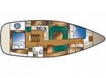 41 ft. Hunter Hunter 41 Sloop Boat Rental Los Angeles Image 4