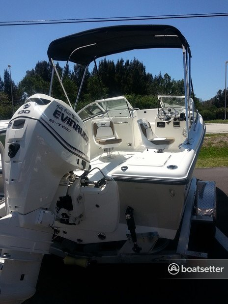 Rent a Key West Boats dual console in Englewood, FL near me