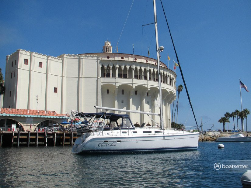 Rent a Hunter sloop in Marina del Rey, CA near me