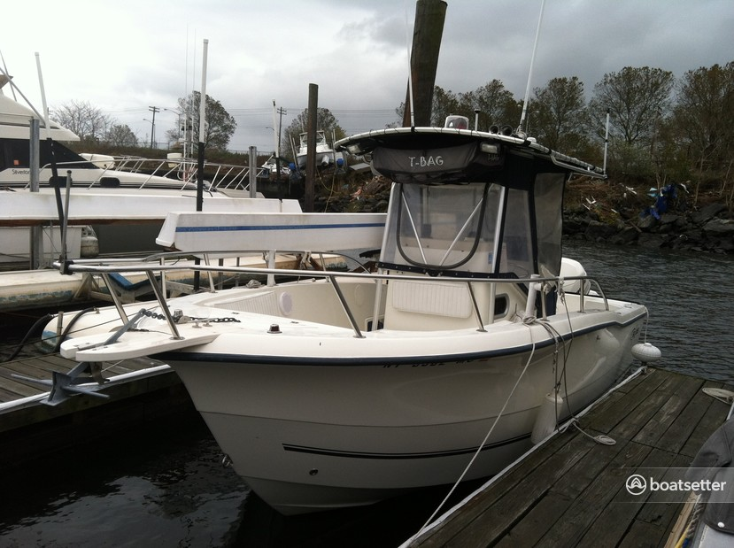Rent a Sea Boss by Sea Pro center console in Brooklyn, NY near me