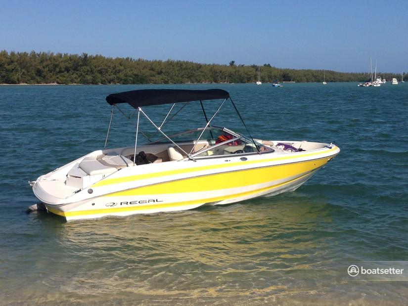 Rent a Regal Boats bow rider in MIAMI, FL near me