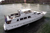 97 ft. Guy Couach Mega Yacht Boat Rental New York Image 16
