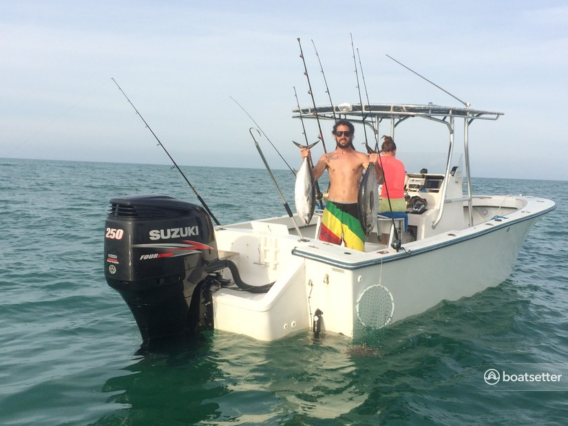 Rent a SeaCraft by Mako center console in Key West, FL near me