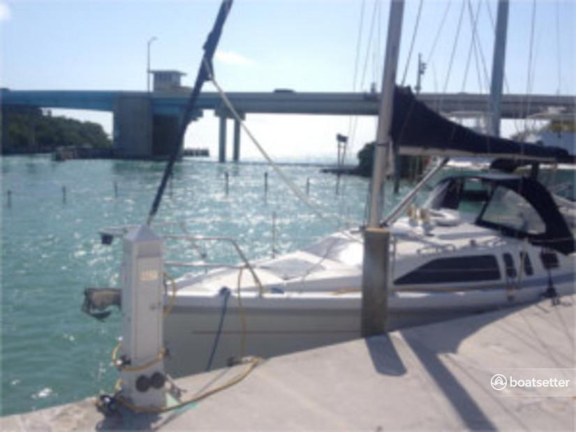 Rent a Hunter cruiser racer in Saint Petersburg, FL near me