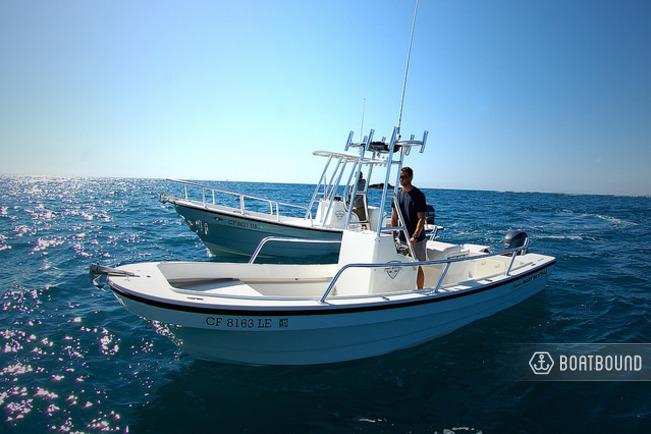 Rent A 2014 21 Ft Panga Fishing Boats 22lx Cc In Newport Beach Ca On Boatsetter