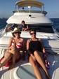 46 ft. Meridian Yachts 411 SEDAN Flybridge Boat Rental Miami Image 1