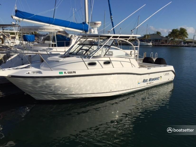 Rent a Boston Whaler walkaround in Summerland Key, FL near me