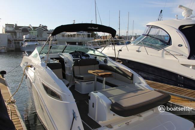 Rent a Sea Ray Boats cruiser in Newport Beach, CA near me