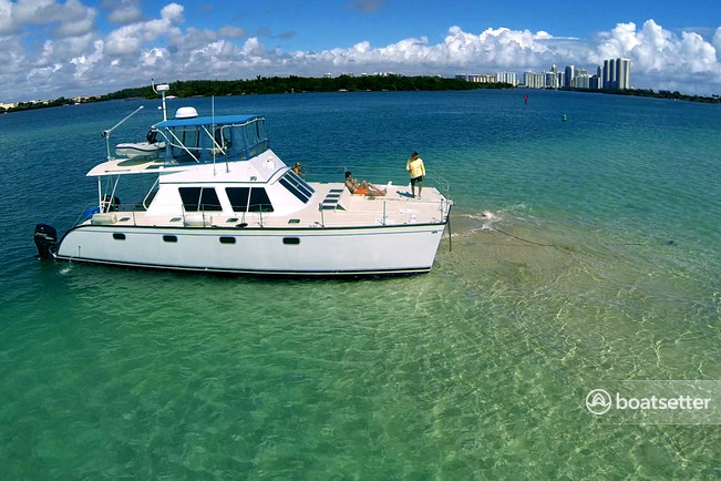 Rent a PowerCat catamaran in Miami Beach, FL near me