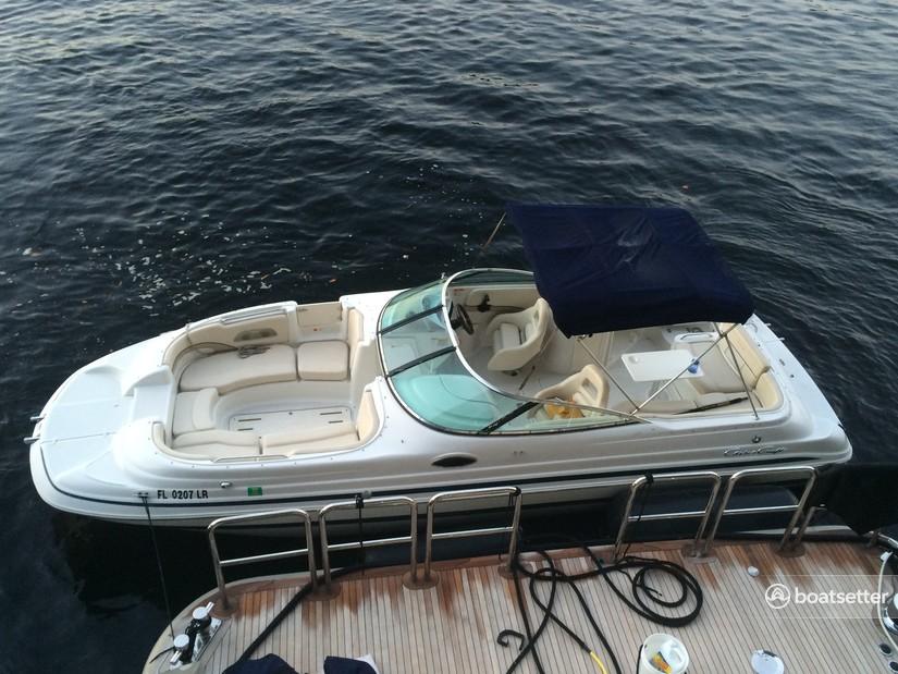 Rent a Chris Craft deck boat in Dania Beach, FL near me