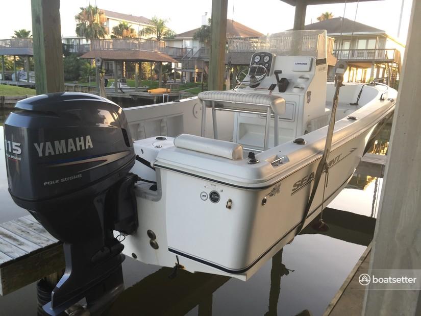 Rent a Sea Hunt Boats center console in La Marque, TX near me