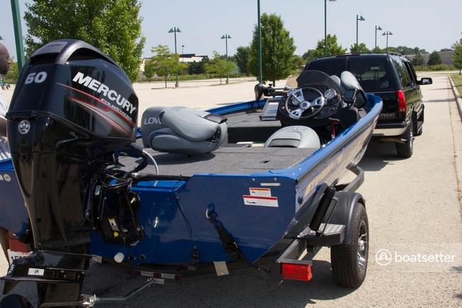 Rent a Lowe Boats bass boat in Olympia Fields, IL near me