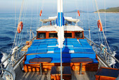 70 ft. Custom Ketch Boat Rental Bodrum Image 2