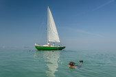 33 ft. Glander Sloop Sloop Boat Rental The Keys Image 8