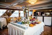125 ft. Network Marine Dinner Boat Mega Yacht Boat Rental New York Image 5