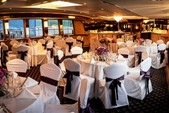 125 ft. Network Marine Dinner Boat Mega Yacht Boat Rental New York Image 9