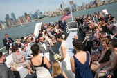 125 ft. Network Marine Dinner Boat Mega Yacht Boat Rental New York Image 13
