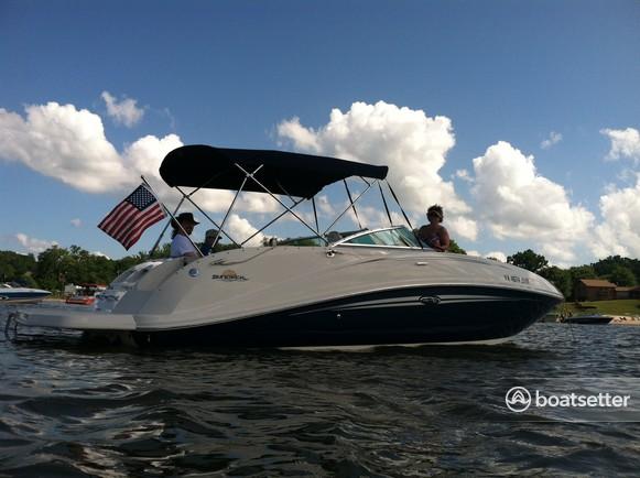 Rent a Sea Ray Boats bow rider in Stafford, VA near me