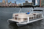 "22 ft. 24"" Bentley Pontoon Boat Pontoon Boat Rental Miami Image 11"