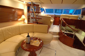 55 ft. Fairline Boats Squadron 58 Motor Yacht Boat Rental Lozica Image 6