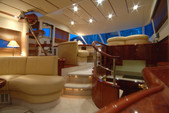 55 ft. Fairline Boats Squadron 58 Motor Yacht Boat Rental Lozica Image 7