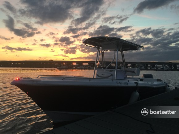 Rent a Sea Hunt center console in Mount Pleasant, SC near me