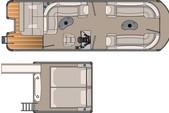 25 ft. Tahoe Pontoons 25' Vista Elite FunShip Pontoon Boat Rental Rest of Northeast Image 5