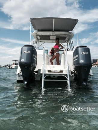 Glacier Bay Boats >> Rent A 2013 27 Ft Glacier Bay Catamarans 2740 Renegade W 2 150hp 4 S In Pompano Beach Fl On Boatsetter