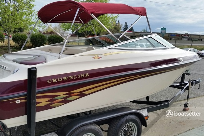 Rent a Crownline Boats bow rider in Tahoe City, CA near me