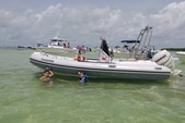 17 ft. Nouva Jolly Rigid Inflatable Boat Rental Miami Image 5