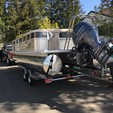 25 ft. 2014 Starcraft Star Lounger 24.5' w/150 HP Pontoon Boat Rental Seattle-Puget Sound Image 1