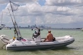 17 ft. Nouva Jolly Rigid Inflatable Boat Rental Miami Image 6