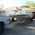 21 ft. Ski Supreme V208 Sky Ski And Wakeboard Boat Rental Sacramento Image 1