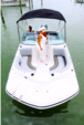 19 ft. Hurricane Boats SD 187 Deck Boat Boat Rental Miami Image 2
