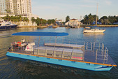 40 ft. Bulldog Pontoons 10x40 Pontoon Boat Rental Miami Image 2