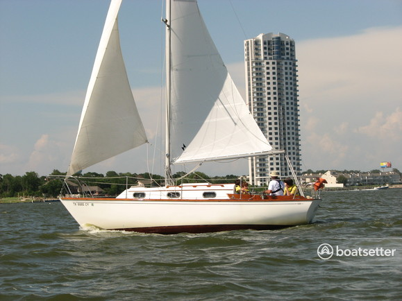 Rent a Cape Dory Yachts cruiser in Kemah, TX near me