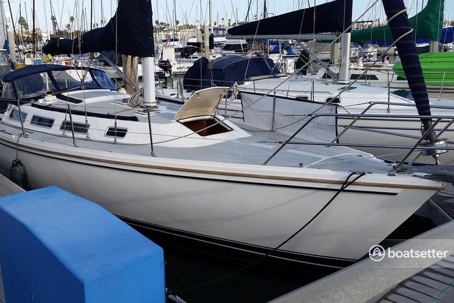 Rent a Catalina sloop in Redondo Beach, CA near me