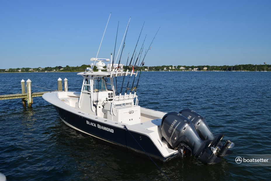 Rent a Regulator Boats center console in Barnstable, MA near me