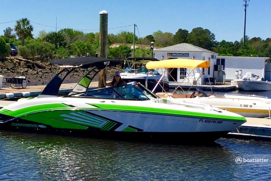 Rent a Chaparral jet boat in Jacksonville, FL near me
