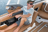 23 ft. Correct Craft Nautique Super Air Nautique G23 Ski And Wakeboard Boat Rental Phoenix Image 7