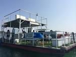 40 ft. 17x40 Custom 5 Pontoon deck boat Deck Boat Boat Rental Chicago Image 1