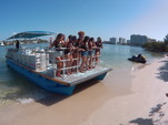 40 ft. Bulldog Pontoons 10x40 Pontoon Boat Rental Miami Image 4