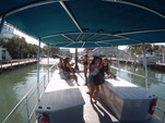 40 ft. Bulldog Pontoons 10x40 Pontoon Boat Rental Miami Image 5