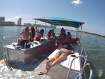 40 ft. Bulldog Pontoons 10x40 Pontoon Boat Rental Miami Image 14