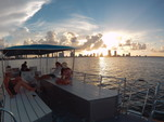 40 ft. Bulldog Pontoons 10x40 Pontoon Boat Rental Miami Image 18