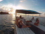 40 ft. Bulldog Pontoons 10x40 Pontoon Boat Rental Miami Image 20